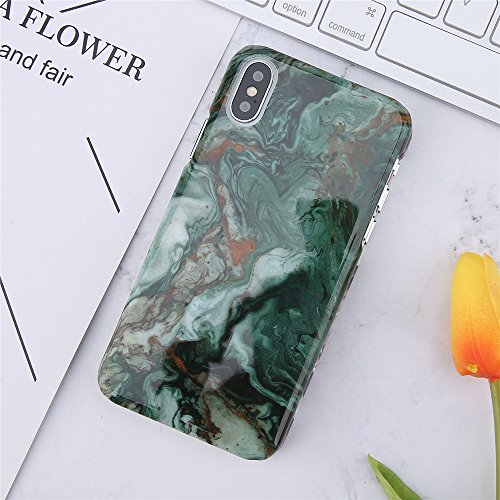 POHONOEO Marmo Lucido Custodia Cover per Telefono Cover per iPhone 7 più Casi Cover per iPhone X 8 7 6 6S Plus Skateboard Graffiti Pc Hard Cover Posteriore Coque,7389,per iPhone 7 Plus