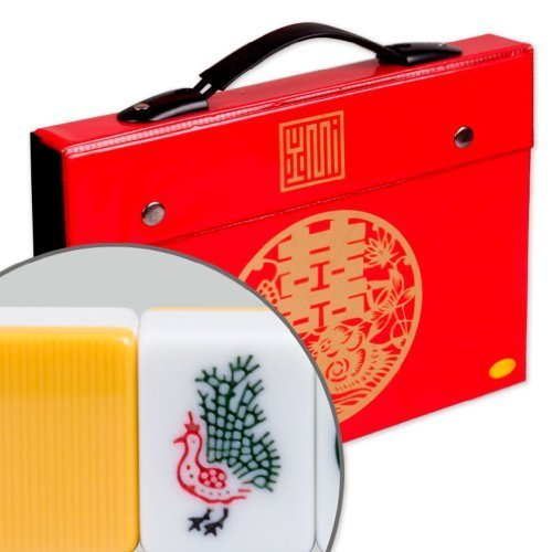 Professional Chinese Mahjong Game Set - Standard by Yellow Mountain Imports