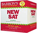 Barron's NEW SAT Flash Cards, 3rd Edition: 500 Flash Cards to Help You Achieve a Higher Score (Barron's Test Prep)