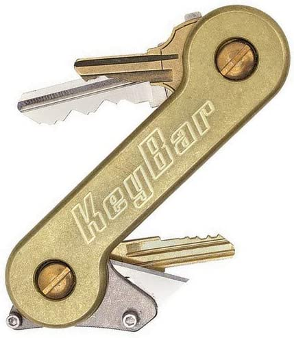 Brass KeyBar Key Organizer EDC Brand Cheap Sale Venue Compact Atlanta Mall Carry Everyday Tool