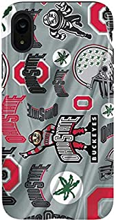 Skinit Pro Phone Case for iPhone XR - Officially Licensed Ohio State University Ohio State Pattern Design