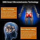 Electroestimulador Muscular Gluteos,EMS Gluteos Estimulador,HipTrainer,Estimulador Muscular Ejercitar Gluteos(Hombre y Mujer)