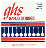 GHS 4-String tenor Banjor Stainless Steel 10.5-28 220