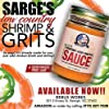Shrimp And Grits Sauce By Sarge's - Restaurant Style Shrimp Grits Homemade Sauce - Easy Southern Comfort Food - Gourmet Food Gifts - Serves 6, 12 Oz Jar #1