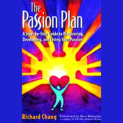 The Passion Plan audiobook cover art