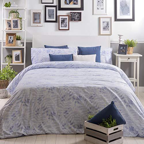 Sancarlos påslakan säng 90 cm blå