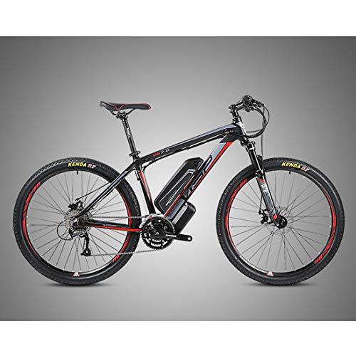 Bicicleta de Montaña Eléctrica Bici Ebike con Rueda de 26/27.5 Pulgadas Batería...