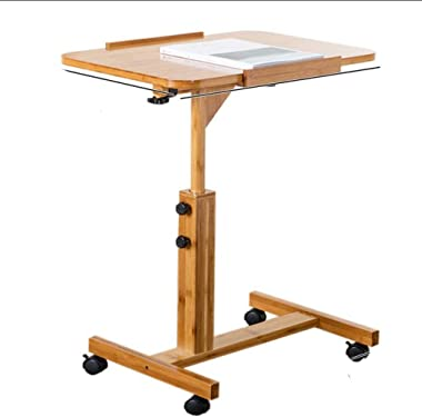 JSZMD Removable Coffee Table Bedside Table Laptop Table Desktop Simple Desk Simple Folding Small Table (Size : 60cm)