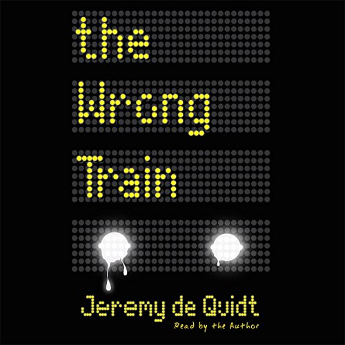 The Wrong Train audiobook cover art