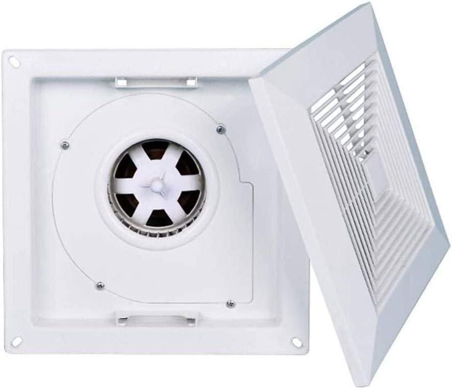 Ventiladores Extractor de Aire Ventilador de techo, baño cocina Potente extractor de humos, de alta potencia, bajo nivel de ruido en el techo tipo extractor de aire ultra-delgado, conveniente for el s