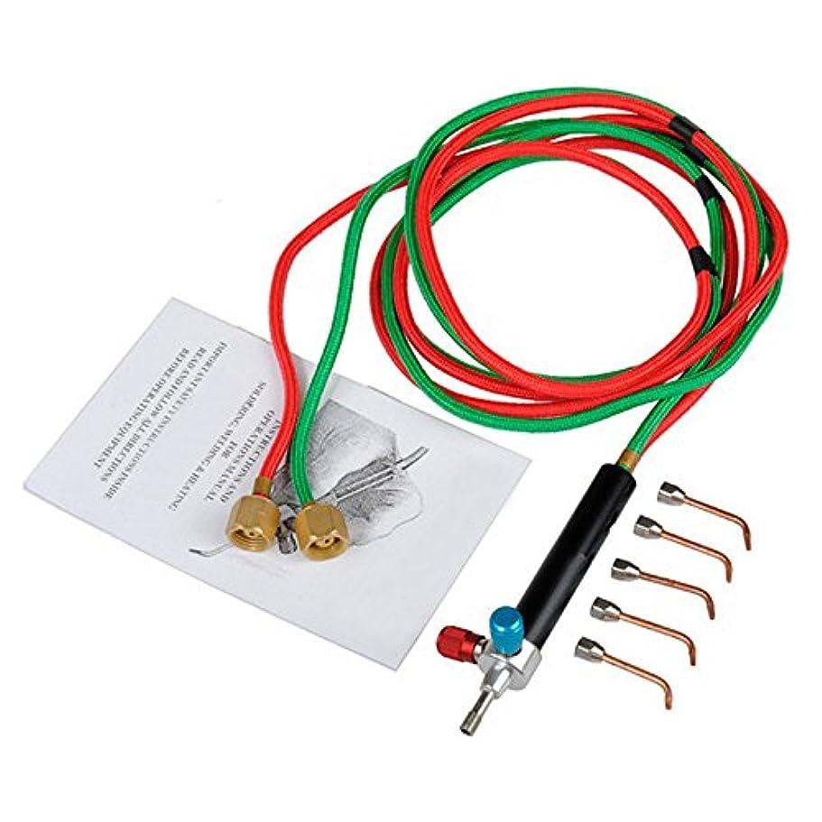 束ねる疑い敏感なSODIAL Micro-Gas Torchミニガス リトルトーチ 溶接はんだ付けキット 5つのヒント溶接はんだ付け 銃 フレキシブルホース 小さな器具、工具、おもちゃ、コンポーネント、ジュエリー修理用