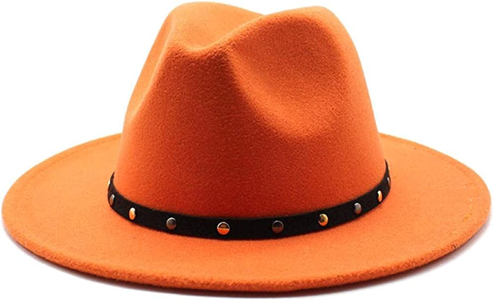 Women's and Men's Fedora Hat Classic Panama Elegant Wo Ranking TOP11 Wide Long Beach Mall Brim