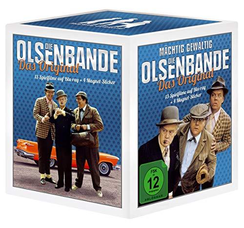 Die Olsenbande: Das Original / Box inkl. 4 Magnet Sticker