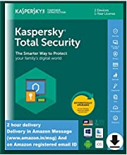 Kaspersky Total Security - 2 Device, 1 Year (Single Key) (Email Delivery in 2 Hours - No CD)