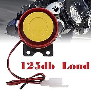 AMZENKA - 1pc Simple Design Motorcycle Electric Driven Air Raid Siren Alarm Safety Horn accessories Loud car horn 12V Car Truck Horn
