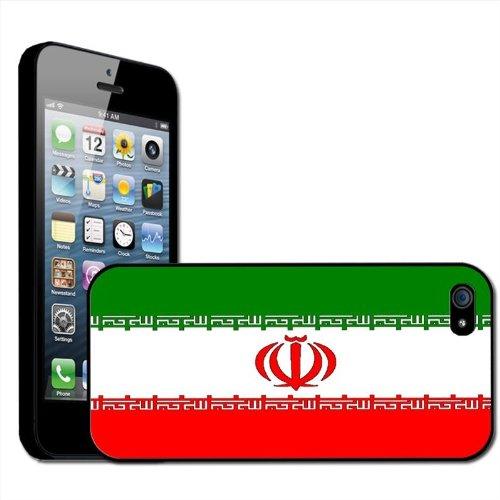 Fancy Een Snuggle Iran Islamitische Republiek Vlag Clip Op Achterzijde Cover Hard Case voor Apple iPhone 5