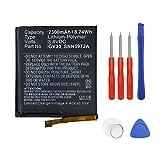 Swark GV30 - Batteria compatibile con Moto Z, Z Dual SIM, Z Droid Edition XLTE, XT1650-01, XT1650-03, XT1650-05, SNN5972A con strumenti