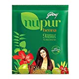 Nupur Henna with Goodness of 9 HERBS for silky & shiny hair - 400 g