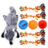 Volacopets Puppy Rope Toys for Small Dogs, Puppy Balls, Dog Toys for Small Dogs, 8 Pack