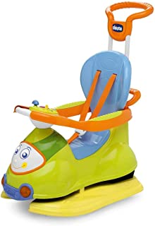 Chicco Quattro 4 in 1 Ride On Toy [Green and Blue]