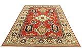 Nain Trading Kazak Royal 273x184 Orientteppich Teppich Beige/Orange Handgeknüpft Pakistan - 4