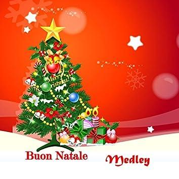 Buon Natale medley: tu scendi dalle stelle / Bianco Natale / Astro del ciel / La piva di montanari / Pastorale natalizia / Ninna nanna / Caro Gesù bambino / Dio fa qualcosa / Il cerchio della vita / E' nata una stella / Alleluja tutti jazzisti / I bambin
