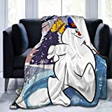 Xinclubna Frosty The Snowman Under The Blanket is Super Soft and Comfortable. Blanket Flannel Fleece Blanket. Four Seasons Custom Sofa Bed with Blanket to Keep Warm.