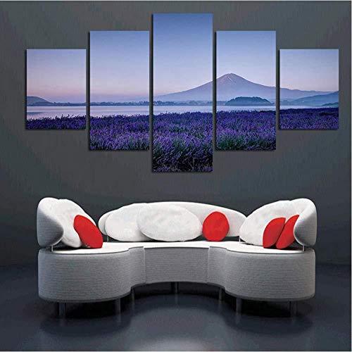 Mashanglaile Dekorative Sprühfarbe Lavendel Wandfarbe 5 Stück Foto Für Wohnzimmer