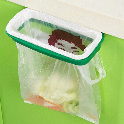 Quanjucheer Müllbeutelhalter, zum Aufhängen auf Küchentür oder Schranktür 8.66