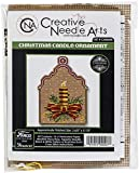 Colonial Needle Counted Cross Stitch Kit 3.6'X5.125'-Christmas Candle Ornament (14 Count)