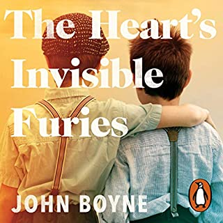 The Heart's Invisible Furies                   By:                                                                                                                                 John Boyne                               Narrated by:                                                                                                                                 Stephen Hogan                      Length: 21 hrs and 21 mins     2,620 ratings     Overall 4.8