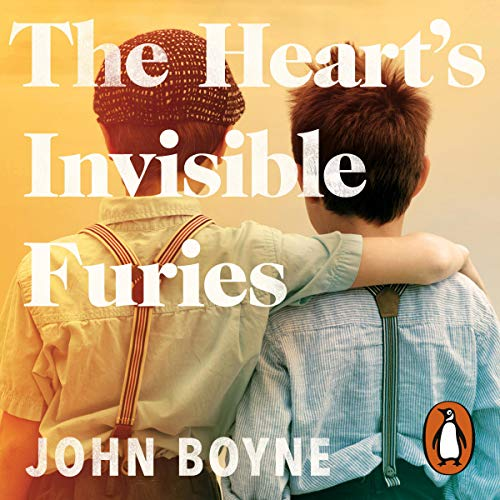 The Heart's Invisible Furies                   By:                                                                                                                                 John Boyne                               Narrated by:                                                                                                                                 Stephen Hogan                      Length: 21 hrs and 21 mins     92 ratings     Overall 4.8