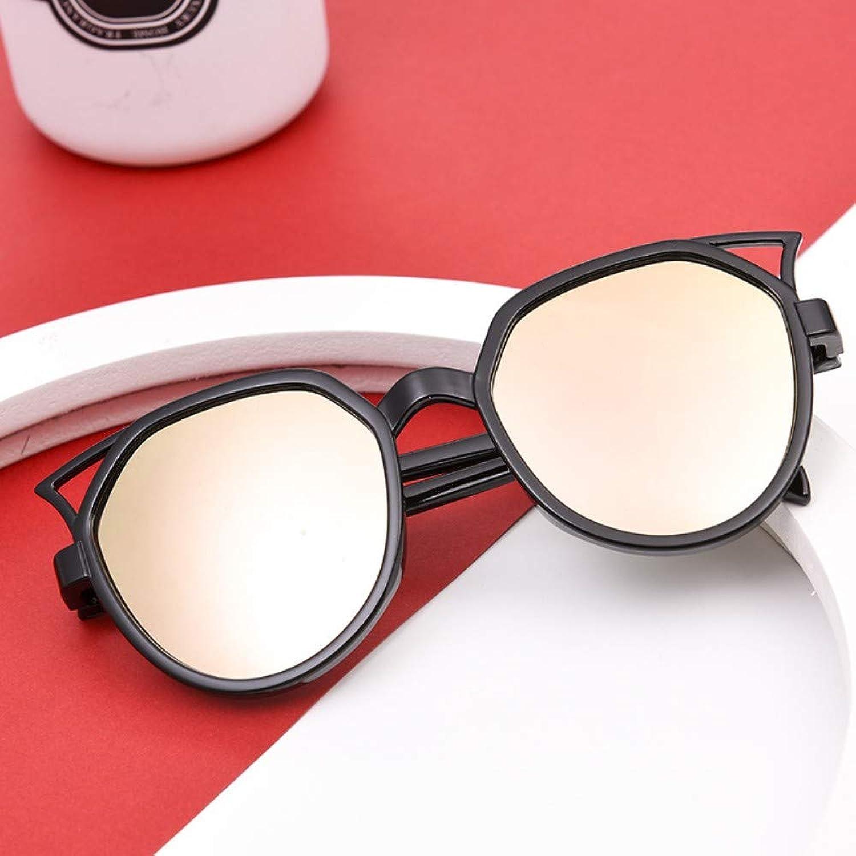Classic half frame polarized semi-borderless sunglasses retro metal female men driving (87)