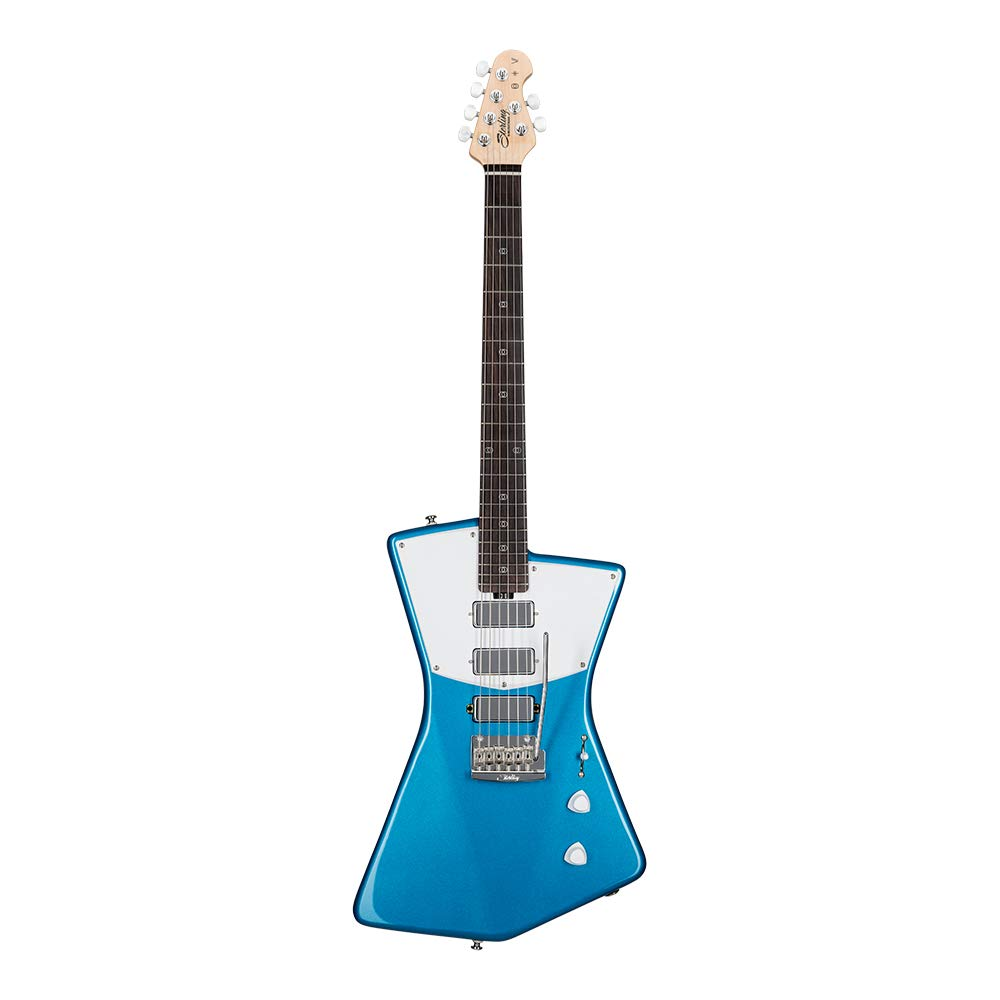 Cheap Sterling By MusicMan 6 String Solid-Body Electric Guitar Right Vincent Blue (STV60-VBL2) Black Friday & Cyber Monday 2019