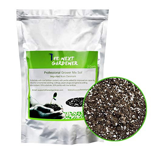 Professional Grower Mix Soil Pre-Mixed Coarse Blend by The Next Gardener Store