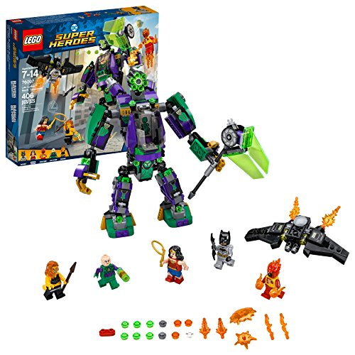 LEGO DC Super Heroes Lex Luthor Mech Takedown 76097 Building Kit (406 Piece)