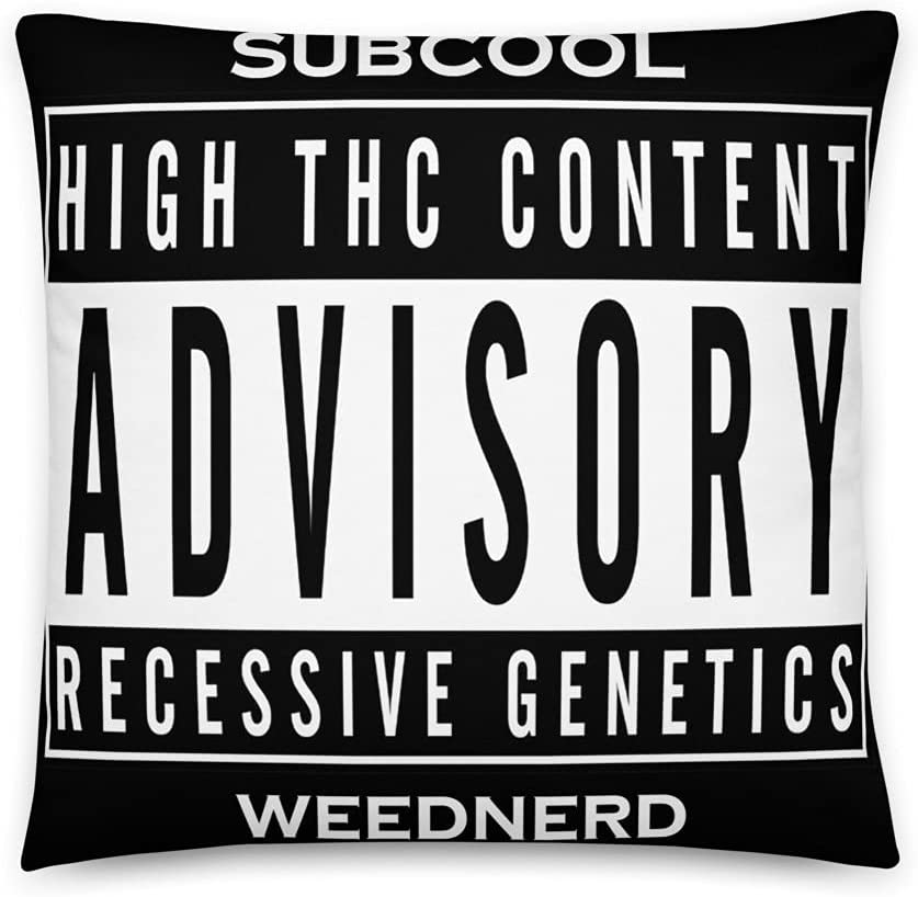 Subcool Authentic Weednerd THC High Pillow Topics on TV Japan's largest assortment