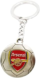 Soccer Team Football Club Logo Metal Pendant Keychain Exquisite Gift for Football Fans