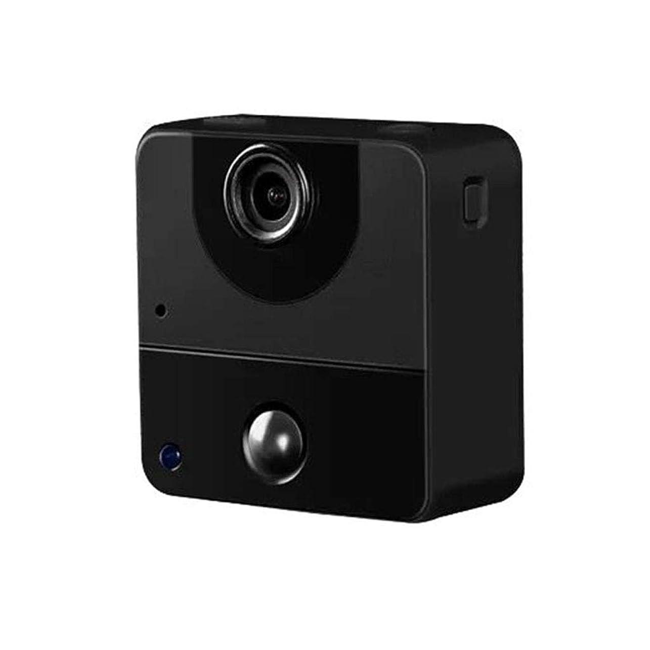 レンダー遊具療法マイクロカメラ、カメラスポーツ hd カメラ720p ポータブル小型ビデオカメラ、人間の身体センシング、インテリジェントモーション検出、低光ナイトビジョン機能 HD オーディオ小型カメラ,Black