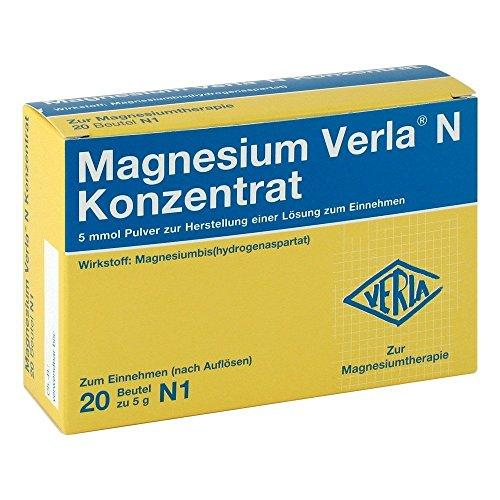Magnesium Verla N Konzentrat Pulver, 20 St. Beutel