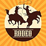 Yeele 6x6ft West Rodeo Background for Photography Cowboy Equestrian Show Photo Backdrop Party Decoration Banner Backdrop Adult Man Portrait Booth Shoot Studio Props Wallpaper
