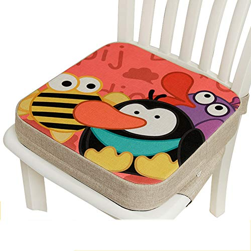 Discover Bargain Baby Increased Pad, Booster Seat Cushion,Children's Dining Chair Heightening Pad, S...