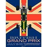 Wee Blue Coo Sport Advert Motor Racing Grand Prix