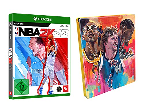 NBA 2K22 Amazon Steelbook - [Xbox One]