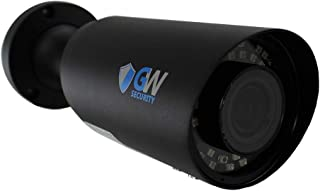 GW Security UltraHD 4K (8MP) Outdoor Bullet POE IP Camera, 3840x2160, 120ft Night Vision, 2.8-12mm Varifocal Zoom Lens, IP66 Weatherproof, Support MicroSD Recording (up to 128GB)