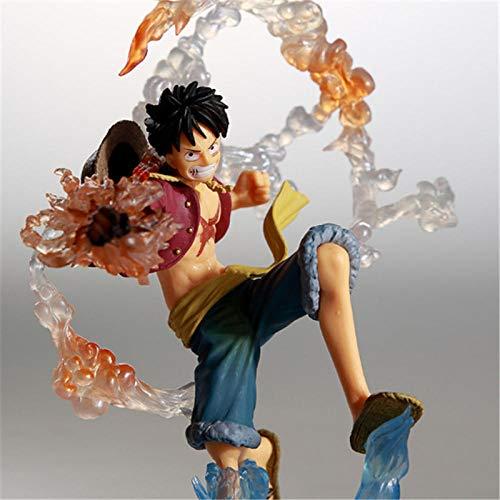 MNZBZ Anime One Piece Collect Statuette Monkey D Luffy Zoro Sanji Battle View PVC Figura Modelo Juguetes