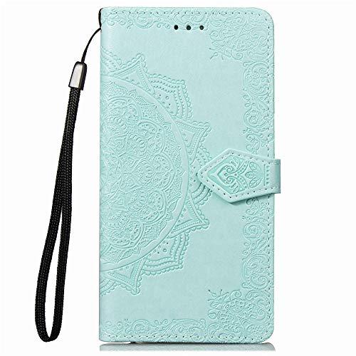 Coque pour Galaxy S7 Edge Antichoc étui Rabat Cuir Case Portefeuille FineTPU Gel Bumper Slim Silicone Wallet Cover Aimant Housse pour Samsung Galaxy S7Edge/G935F - ZISD010478 Vert