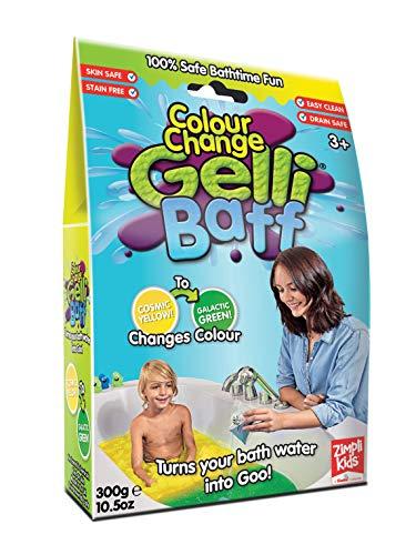 Gelli Baff Lösungsmittelpuder, Farbwechsel, gelb und grün