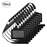 KAKOO 10 PCS Porta Badge Identificative Carta di Nome con Cordino del Collo Staccabile per...
