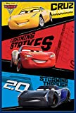 Disney Cars - 3 - Trio - Film Kino Movie Poster Plakat